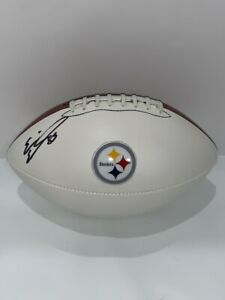ERIC-EBRON-SIGNED-FOOTBALL-PITTSBURGH-STEELERS-AUTOGRAPHED-PRO-BOWL