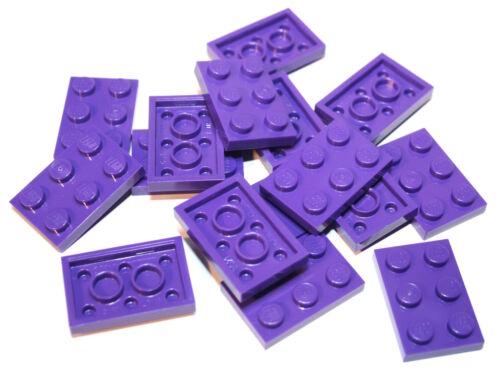 16x LEGO ® PIASTRA 2x3 3021 Nuovo Lilla Scuro Viola DARK PURPLE