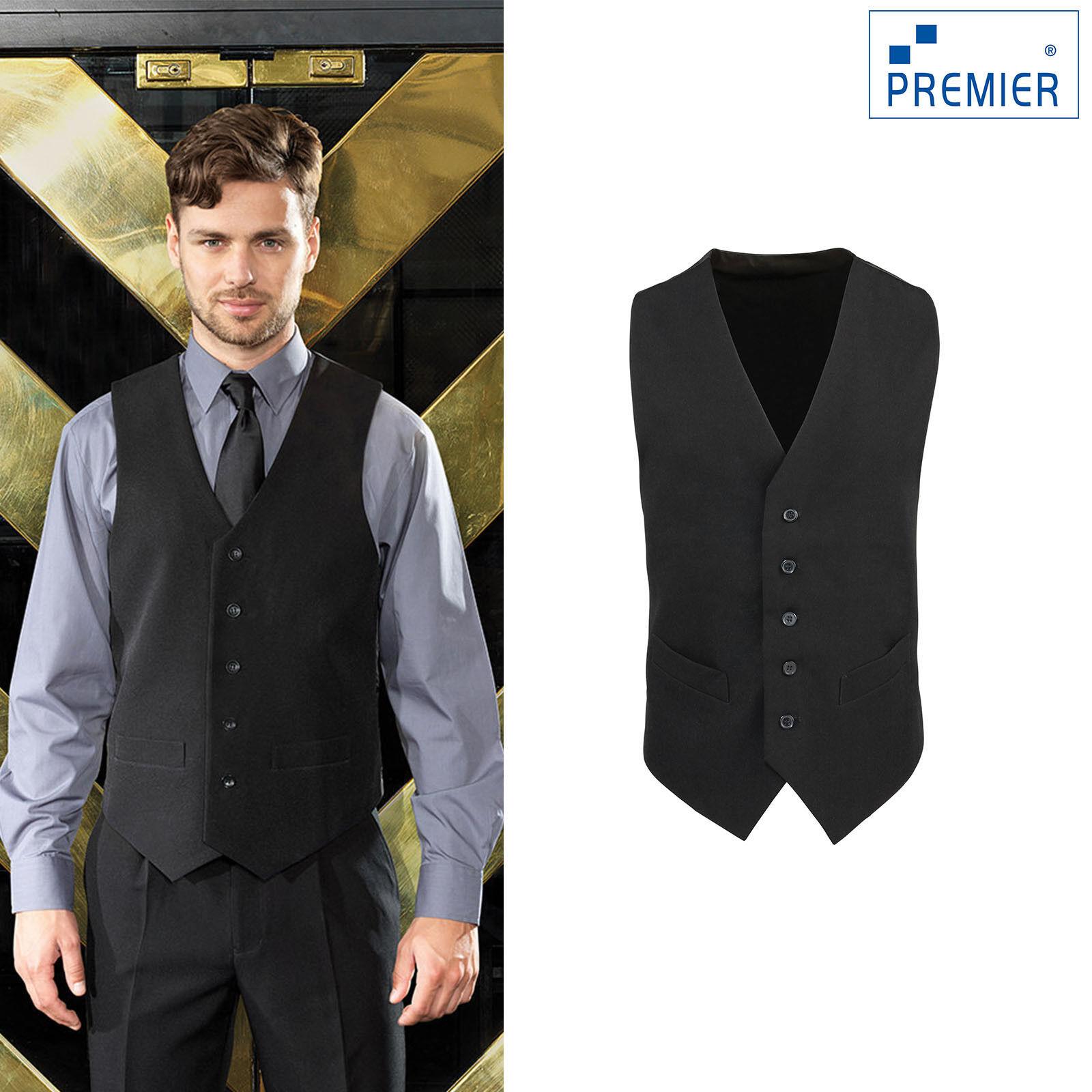 Premier Lined Polyester Waistcoat PR622