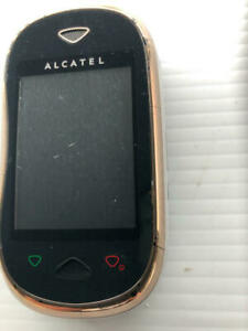 Alcatel OT-880 Black Cell Phone ASIS - Fast Shipping!