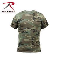 4777 Rothco Woodland Camo Vintage T-Shirt