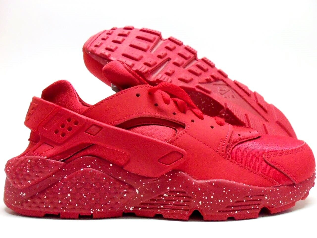 b4969a3b24 NIKE AIR HUARACHE RUN ID RED OCTOBER UNIVERSITY RED SIZE MEN'S 9 ...