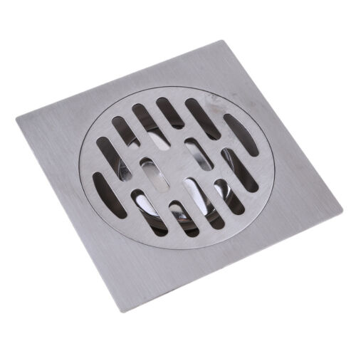 Stainless Steel Square Shower Floor Drain Tile Insert Grate Cover
