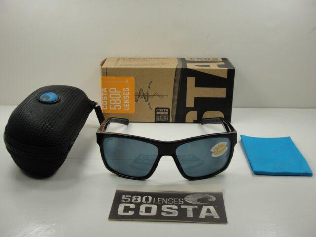 d5c50d455dd Costa Del Mar Sunglasses Polarized Slack Tide Matte Black Gray 580p SLT 11  OGP