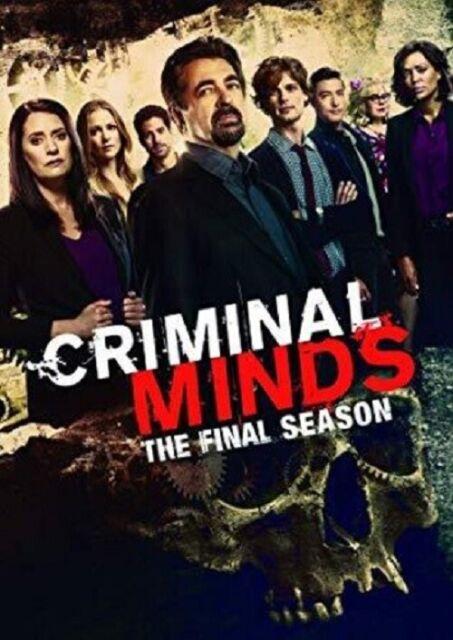 Criminal Minds Season 15 Series Fifteen The Final Season (Paget Brewster) DVD