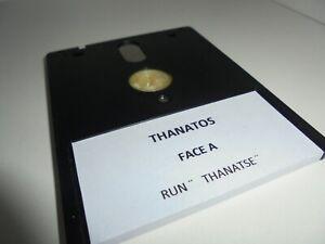 Jeu CAPTAIN BLOOD + THANATOS 1988 - disquette - Amstrad CPC 6128 -