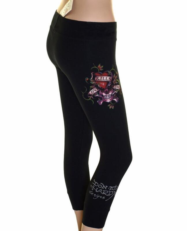 2 PAIA-Leopardo Stampa Leggings Moda Donna Ananas Palestra Danza Taglia L