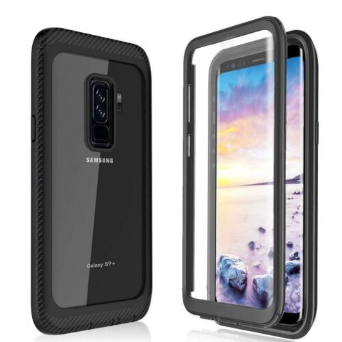 For Samsung Galaxy S8 S8 S9 S9 Rugged Armor Cover W//Built in Screen Protector