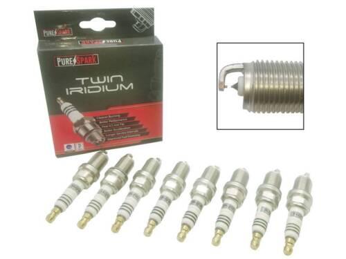 8x purespark doble Iridio Bujías de actualización 5070-06 electrodo Ultra Fina