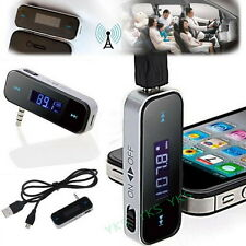 3.5mm In-car Wireless FM Transmitter for iPhone 4S iPod Touch Galaxy S2 MP3 U7