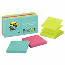 Post It Pop Up 3 X 3 Note Refill Miami 90pad 10 Padspack R33010ssmia