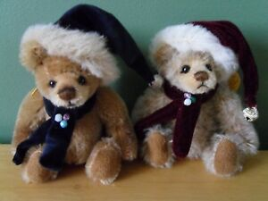 "Careful Charlie Bears Dingle And Dangle 5"" Mohair Keyrings Matching Numbers 254/1200 New Wide Varieties Manufactured"