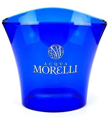 Acqua Morelli Waser Flaschenkühler In Blau Ice Buckett Eis Box Kochen & Genießen