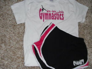 Gymnast-running-shorts-with-a-034-Gymnastics-live-love-breathe-034-t-shirt