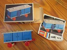 LEGO Eisenbahn alt 4,5V / 12V  Set 124 BDA OVP
