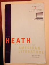 American Literature Vol. E : Contemporary Period by Paul Lauter, Richard...