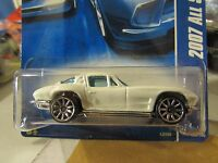 Hot Wheels '63 Corvette 2007 All Stars White