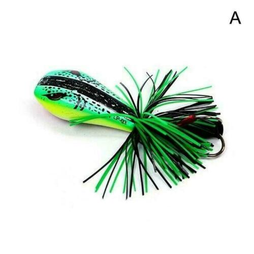 Jumping Frog Lure Topwater Lure 90mm 10g Double Strong Jump Action C3Z7 Hoo L8L8