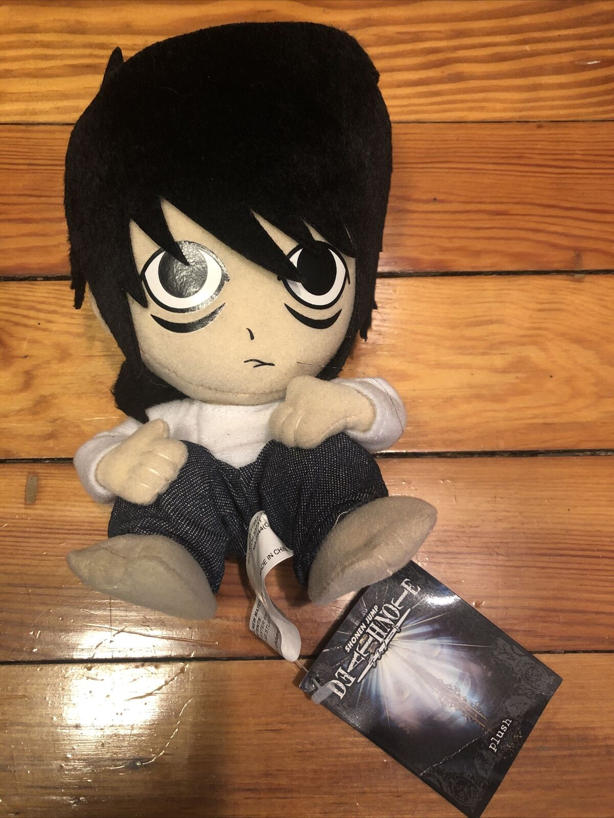 "GE-7051 Great Eastern 8/"" L Shonen Jump Death Note Stuffed Plush On Sale"