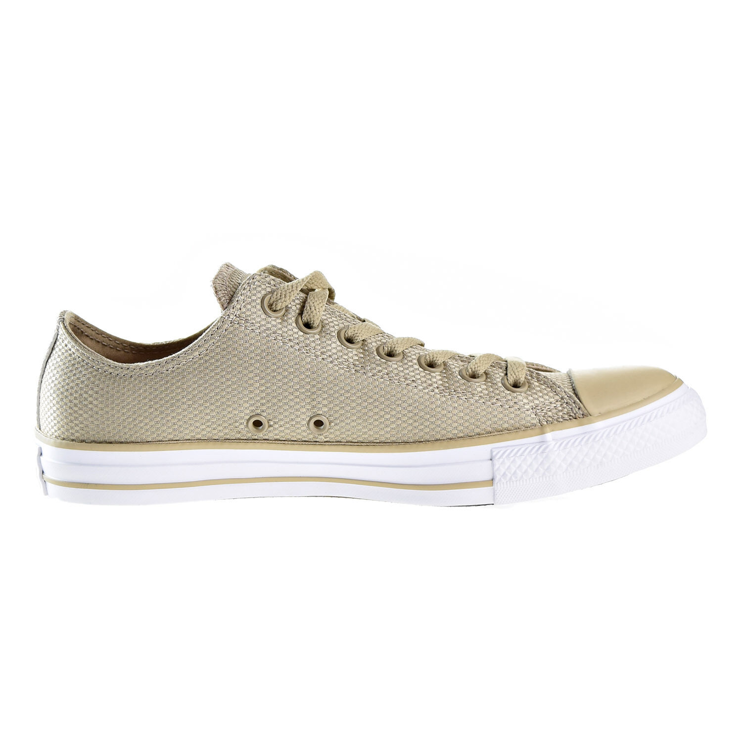 Converse Chuck Taylor All Star OX Unisex shoes Vintage Khaki White Brown 155419f