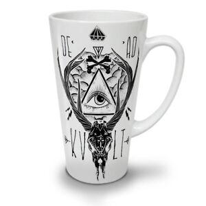 Dead Triangle NEW White Tea Coffee Latte Mug 12 17 oz | Wellcoda