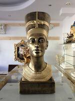 Wunderschöne Ägyptische Büste Nofretete Figuren ägypten Kunst Figur 2846 k 110z