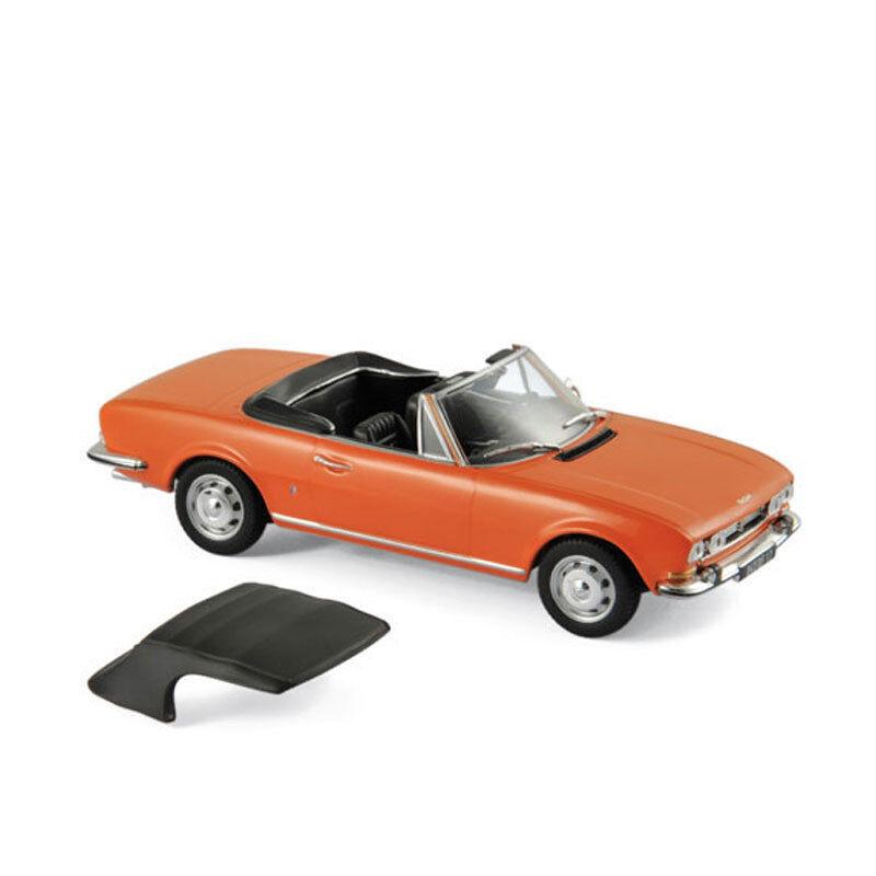 Norev 475432 Peugeot 504 Cabriolet orange 1970 échelle échelle échelle 1 43 Maquette de voiture 0af6b9