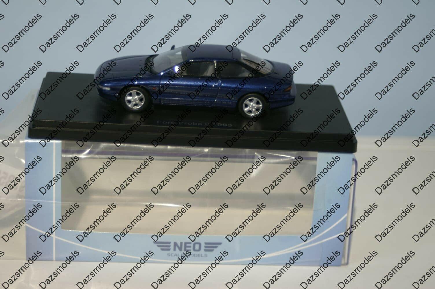 NEO MODELS Ford Probe Mk2 Bleu NEO47120 échelle 1 43
