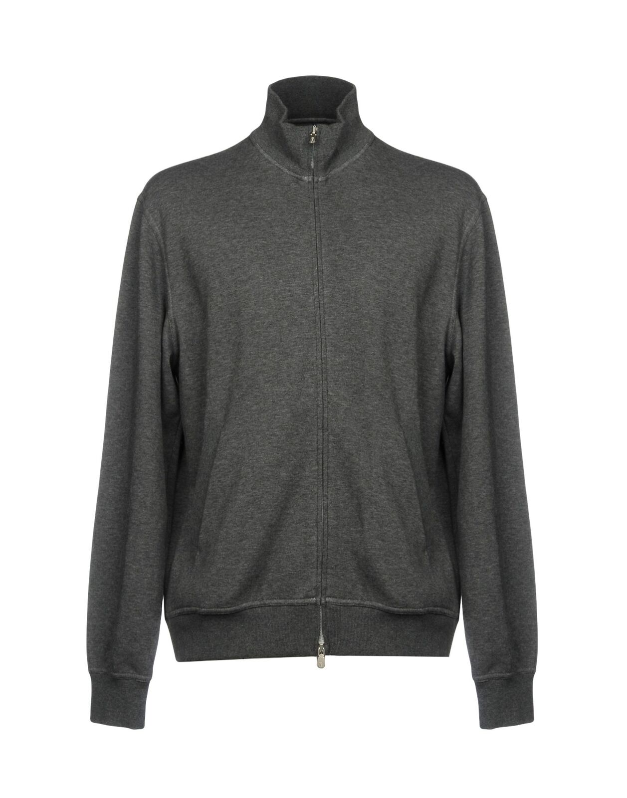 Brunello Cucinelli grau Cotton Zip Up Sweatshirt sweater NEW Größe XL w logo zip