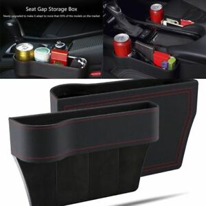 Black-Car-Seat-Pocket-Catcher-Organizer-Leak-Proof-Storage-Bag-Multifunctional