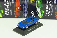 F-toys 1/64 Lamborghini Countach LP400 Blue Anniversary no kyosho