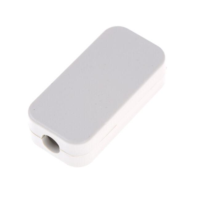 5pcs Electric Plastic Black Waterproof Case Project Junction Box 40*20*11mm 2 gE