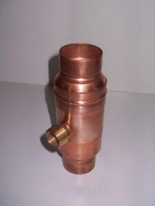 Regenwassersammler Kupfer Fur Fallrohr Durchmesser 60mm Regensammler