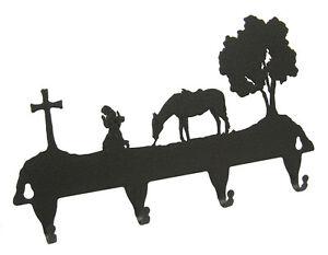 Praying-Cowgirl-Western-Key-Hook-Holder-Keyhook-Horse