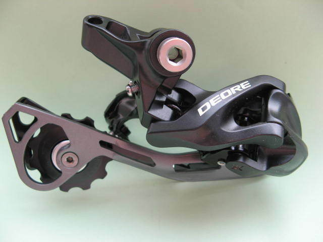 Rear Derailleur Rd-M610 Sgsl Shimano Deore Shadow Direct Mount 10-speed New