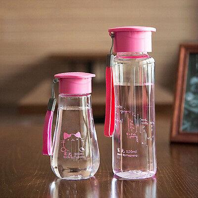 Cute Kids Girls Boys Portable School Water Bottle Travel Outdoor Sports Cup New