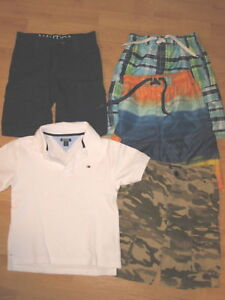 New Boys Summer Outfit - Size 12 mo Tommy Hilfiger Shirt, Nautica Shorts