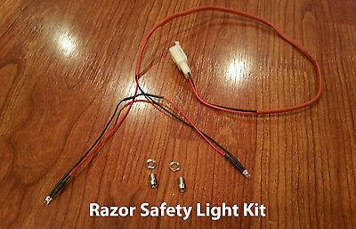Razor Pocket Mod DEL frein et Taillights annonce sur. doit avoir notre vitesse variable