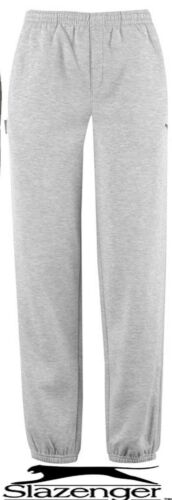 Boys light grey slazenger jogging bottoms joggers tracksuit bottoms  new