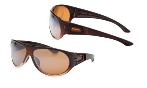 Columbia CBC50002 Men/'s Sunglasses Brown Clear Fade Polarized