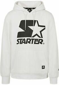 STARTER Maglia Felpa uomo con cappuccio The Classic Logo Hoody White Size XL