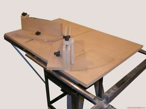 Miter Sled Woodworking Plans Plan Table Saw Gauge Ebay
