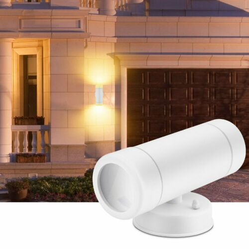 Modern Exterior LED Wall Light Sconce Outdoor Porch Up Down Fixture Waterproof