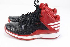 electrodo Aplastar Sympton  Adidas Sprint Web High Top Basketball Shoes Red Black Men's US Size 7.5 |  eBay