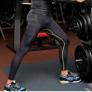 Men-Compression-Pants-Gym-Base-Layer-Skin-Tights-Running-Workout-Sports-Trousers
