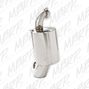 MBRP-Stainless-Steel-Snowmobile-Standard-Silencer-2010-2011-Polaris-600-Pro-RMK
