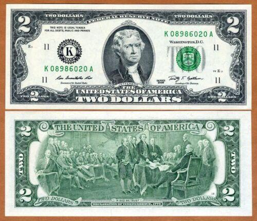 K $2 UNC Dallas, TX P-New USA 2009