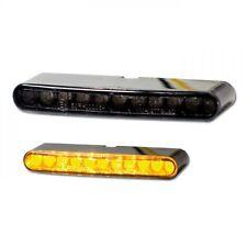 Schwarze LED Mini Micro Blinker Miniblinker Stripe zum kleben Einbau