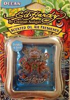 2 Ed Hardy By Christian Audigier ' Scented Oil Air Freshener(ocean Blue )