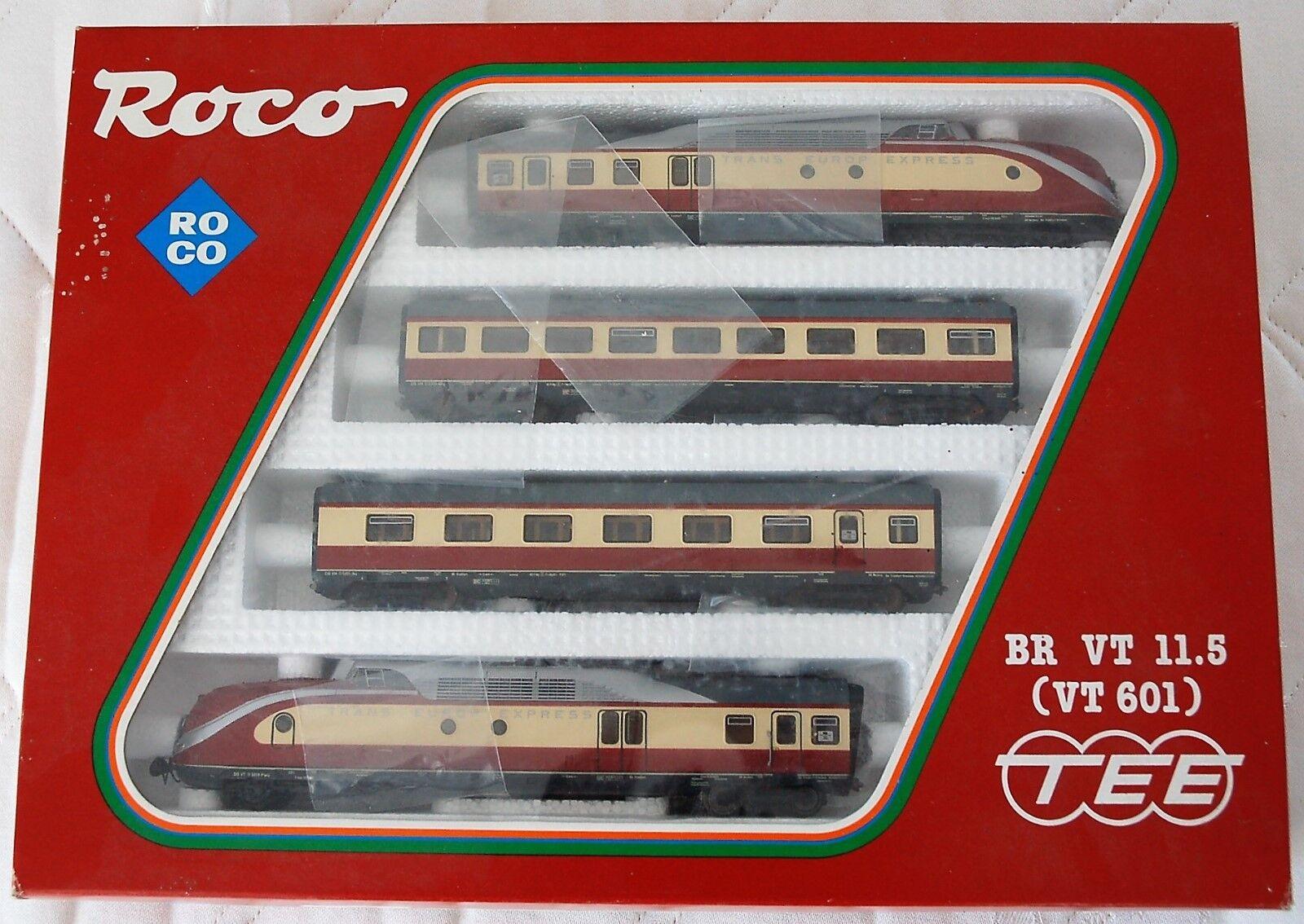 ROCO 43011 TEE-Triebzug VT11.5 BR 601 der DB, Wechselstrom, TOP TOP TOP & OVP    Günstig  0a4842